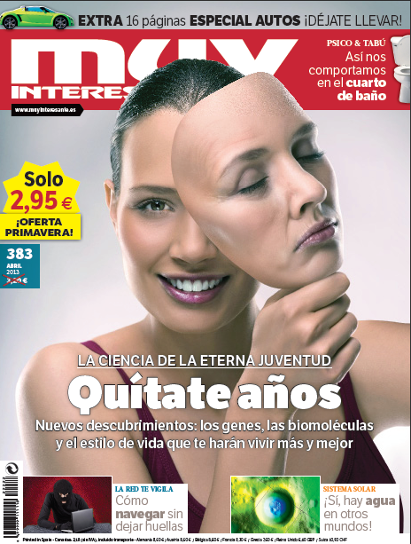 "Aparición en la Revista ""Muy Interesante"" del Mes de Abril. Appearance in the ""Very Interesting"" Magazine of the Month of April"