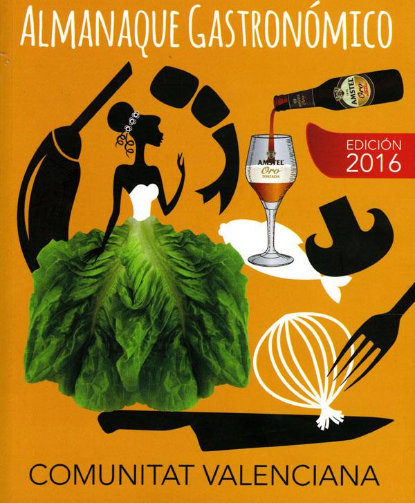 Portada de la edición de 2016 Almanaque Gastronómico