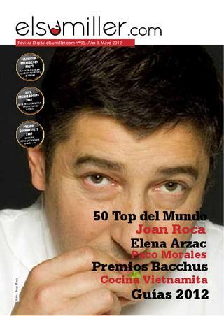 AOVE Señoríos de Relleu Coupage en la Revista El Sumiller Mayo 2012