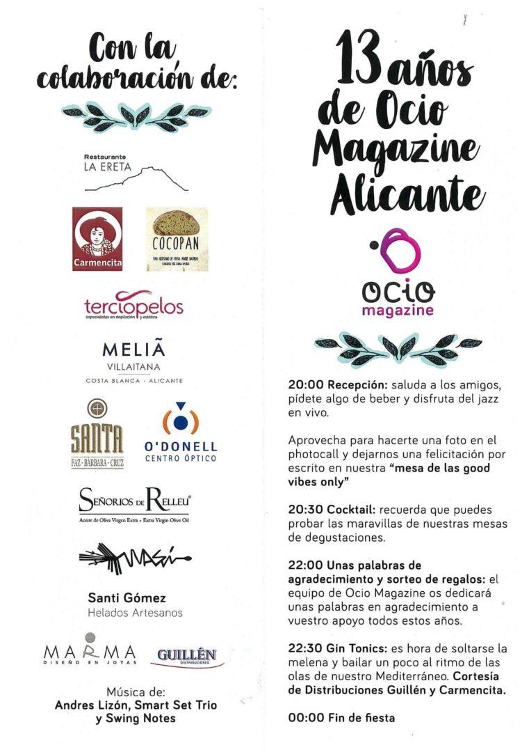 Ocio Magazine Alicante