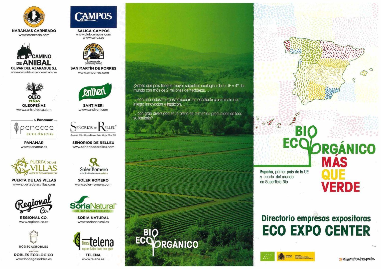 Aceite de Oliva Virgen Extra Ecologico. Organic Extra Virgin Olive Oil