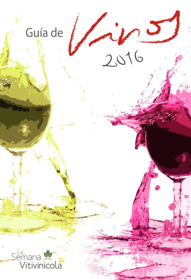 Portada de la revista Guía de vinos 2016 de la Semana Vitivinicola