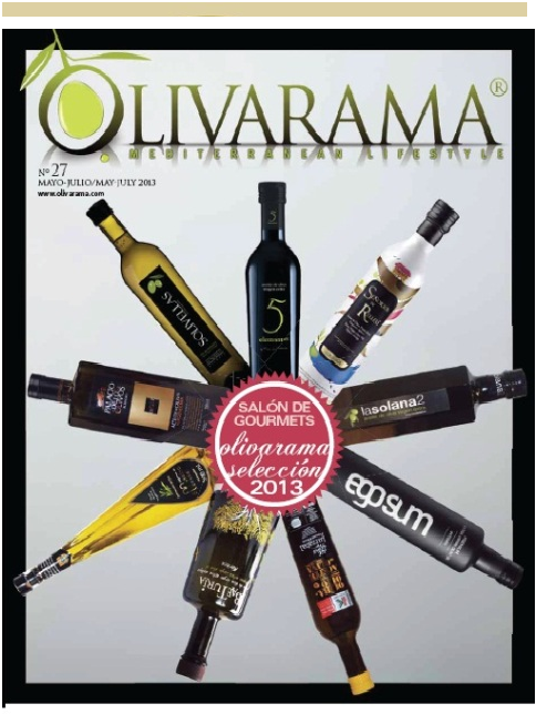 Olivarama Selección 2013. Olivarama Selection 2013