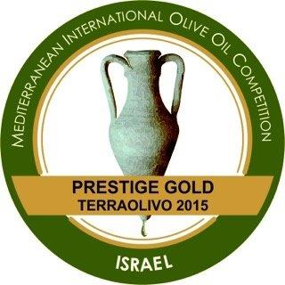 Recibimos la Gran Prestige Gold de Terraolivo. Mediterranean international olive oil competition