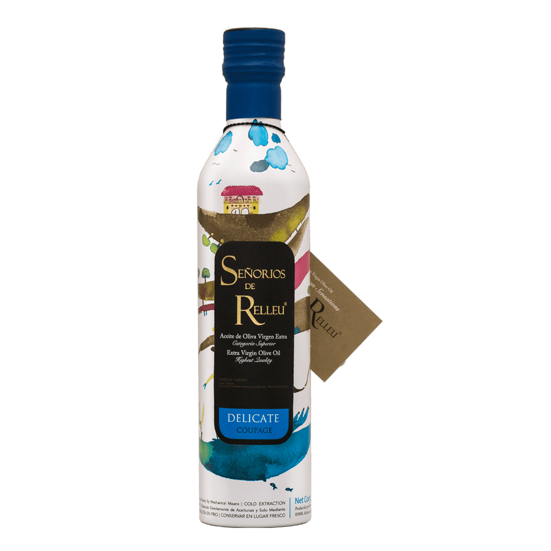Uno de los Mejores Aceites de Oliva Virgen Extra. Sensaciones del Mediterráneo. Te gusta sorprender? One of the finest Extra Virgin Olive Oil. Mediterranean Sensations. Do you like to surprise?
