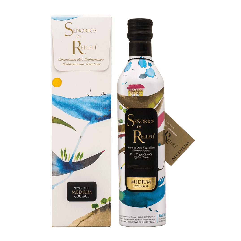 Medium Coupage Extra Virgin Olive Oil 500 ml+ Individual GiftBox
