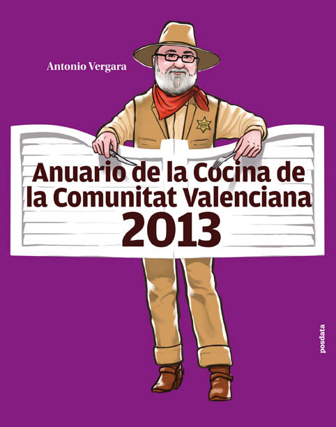 Portada del Anuario de Cocina. Antonio Vergara