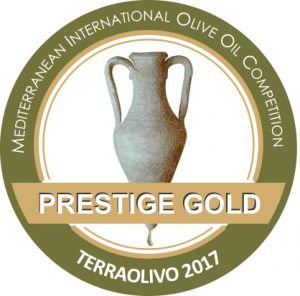 Recibimos la Prestige Gold de Terraolivo 2017. We recieved the Prestige Gold from Terraolivo 2017