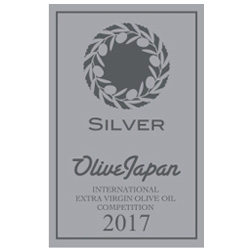 Recibimos la medalla de plata en Olive Japan 2017. We received the silver medal at Olive Japan 2017.