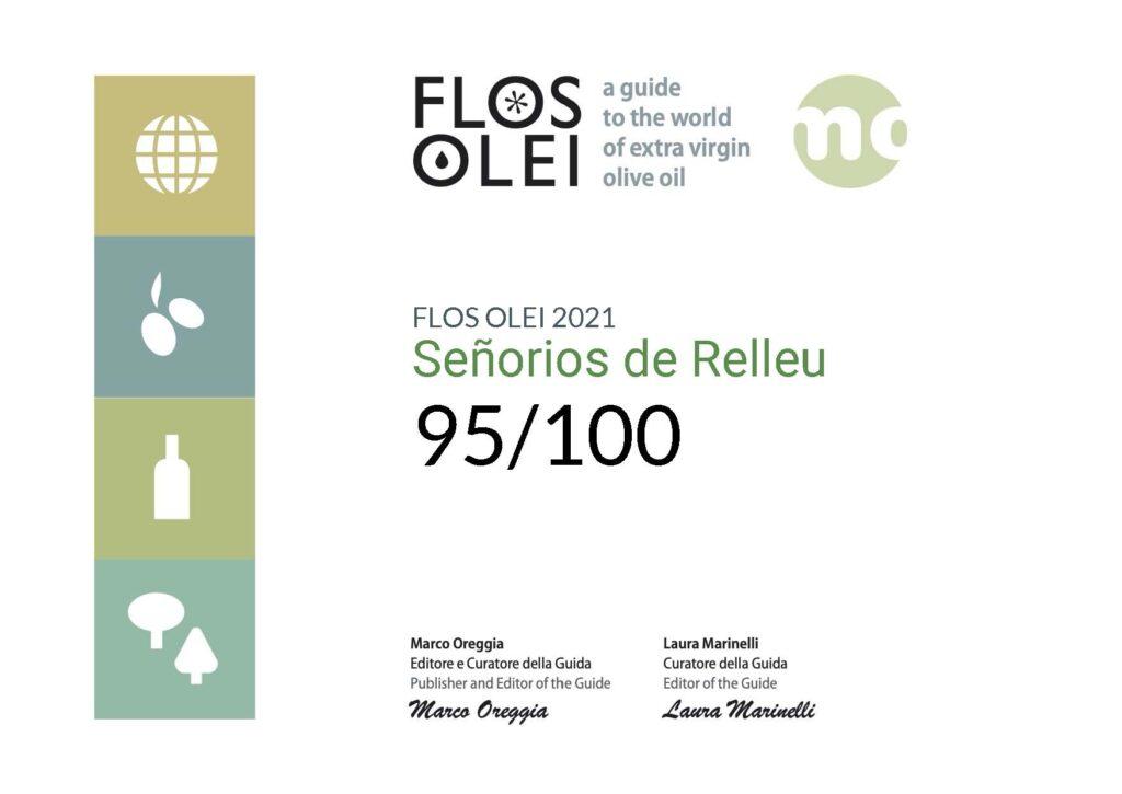 Mejor Aceite de Oliva Flos Olei