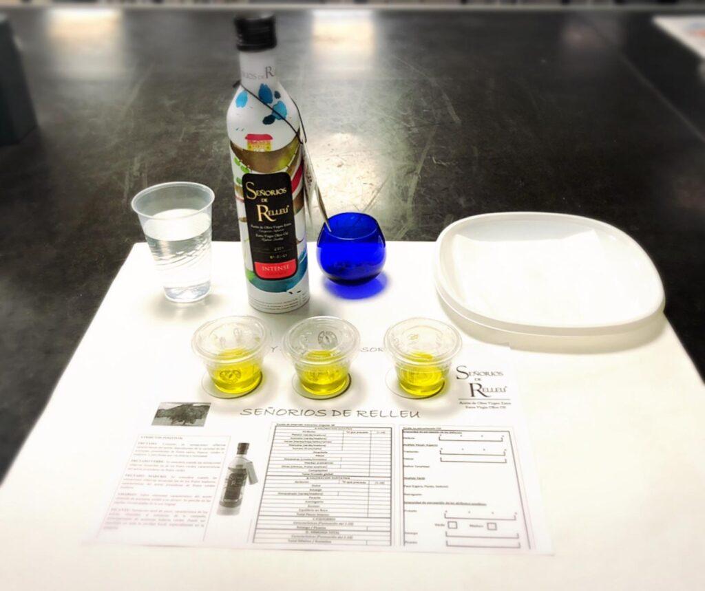 Cata de aceites de oliva virgen extra